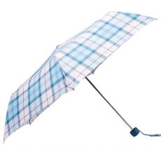 Barbour Portree Blue Check Umbrella