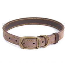 Barbour Brown Leather Dog Collar