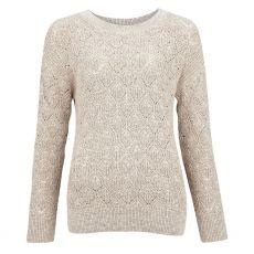 Barbour Newbury Cream Knit Sweater