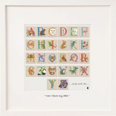 Belinda Northcote I know my ABC's  Mini Frame