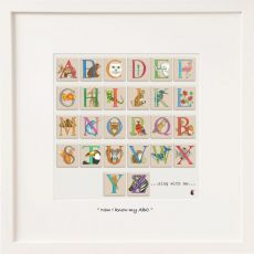 Belinda Northcote I know my ABC's Large Frame