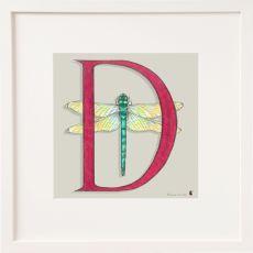 Belinda Northcote Letter D Square Frame
