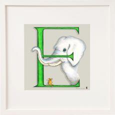 Belinda Northcote Letter E Square Frame