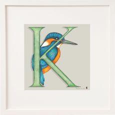 Belinda Northcote Letter K Square Frame