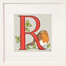 Belinda Northcote Letter R Square Frame