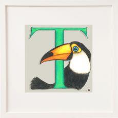 Belinda Northcote Letter T Square Frame