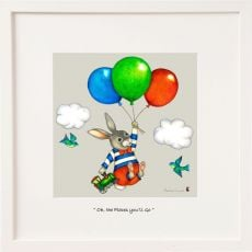 Belinda Northcote Oh The Places You will go mini frame