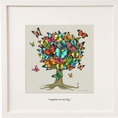 Belinda Northcote Together We Will Fly Mini Frame