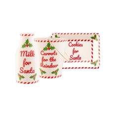 Belleek Santa's Visit Set
