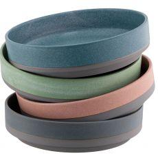 Belleek Tsuma Set of 4  Large Stacking Bowls
