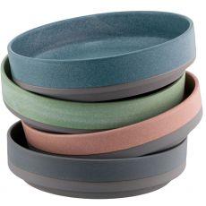 Belleek Tsuma Set of 4 Small Stacking Bowls