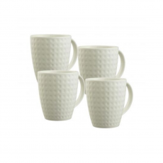 Belleek Grafton 4 Piece Mug Set