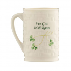 Belleek 'I've Got Irish Roots' Mug