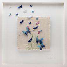 Rebeka Kahn 'Happiness' 53cm x 53cm