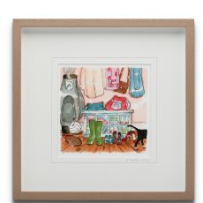 Blue Shoe Gallery A Perfect Chaos large framed print