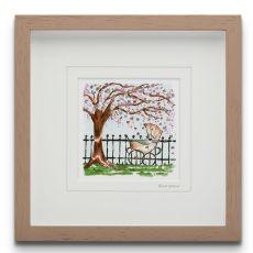 Blossom small Framed Art Print