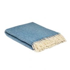 McNutt of Donegal Blue Sky Blanket