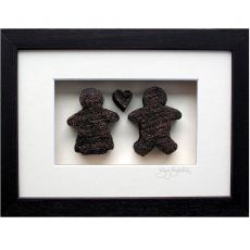 Bog Buddies Couple with Heart Frame