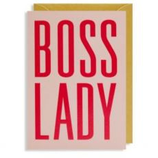 Boss Lady Mothers Day Card