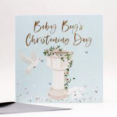 Boy Christening Card