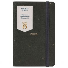 Busy B Grey Pocket Diary 2021