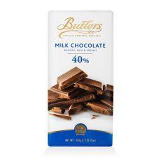Butlers 40% Milk Chocolate Bar