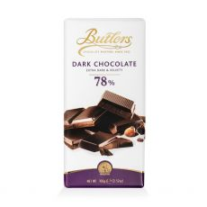 Butlers 78% Dark Chocolate Bar