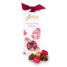 Butlers Chocolate Heart Tapered Box