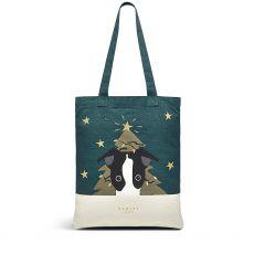Radley Christmas Friends 2 Pack Medium Tote Bags