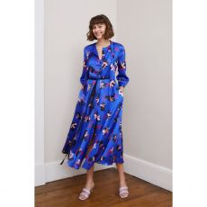 Caroline Kilkenny Ricki Blue Floral Dress