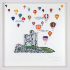 Rebeka Kahn 'Beautiful Ireland Castle' 53cm x 53cm