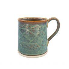 Castle Arch Pottery Oilean Green Mug