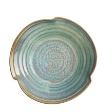 Castle Arch Pottery Oilean Green Salad Bow