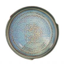 Castle Arch Pottery Oilean Green Serving Dish