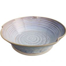 Castle Arch Pottery Oilean White Salad Bowl