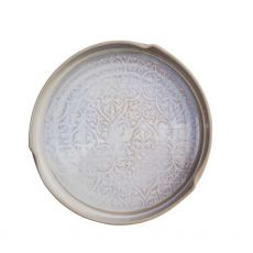 Castle Arch Pottery Oilean White Serving Dish