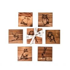 Caulfield Country Boards Native Collection 6 Coasters