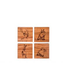 Caulfield Country Boards Native Collection Coasters