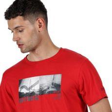 Regatta Cline IV Gents T-Shirt- Red