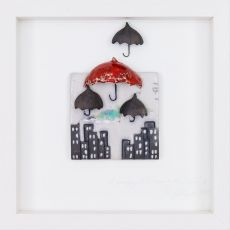 Rebeka Kahn Learning to Dance in the Rain 26cm x 26cm