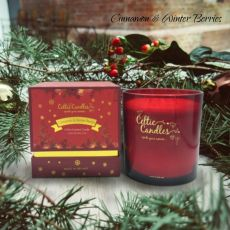 Celtic Candle 4 Wick Xmas Special Cinnamon Candle