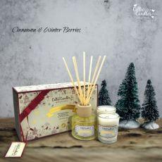 Celtic Candle Cinnamon & Winter Berries Mini Gift Box