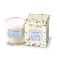 Celtic Candles 9cl Fresh Cotton Candle