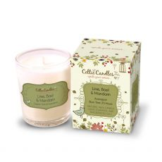 Celtic Candles 9cl Lime Basil Mandarin Candle
