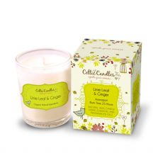 Celtic Candles 9cl Lime, Leaf and Ginger Candle