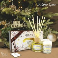 Celtic Candles Christmas Mini Gift box Winter Spice