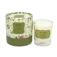 Celtic Candles Lime Basil & Mandarin Tumbler