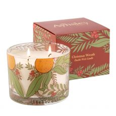 Christmas Wreath Candle (Redcurrent & Star Anise) Swatch
