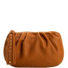 Peelo Tan clutch bag