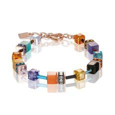Coeur De Lion Geo Cube Multi Couture Bracelet